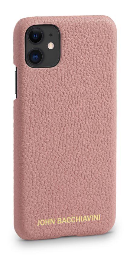 Mandevilla Pink Leather iPhone 11 Case