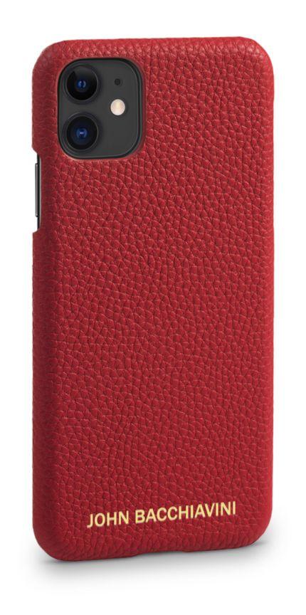 Rafflesia Red Leather iPhone 11 Case