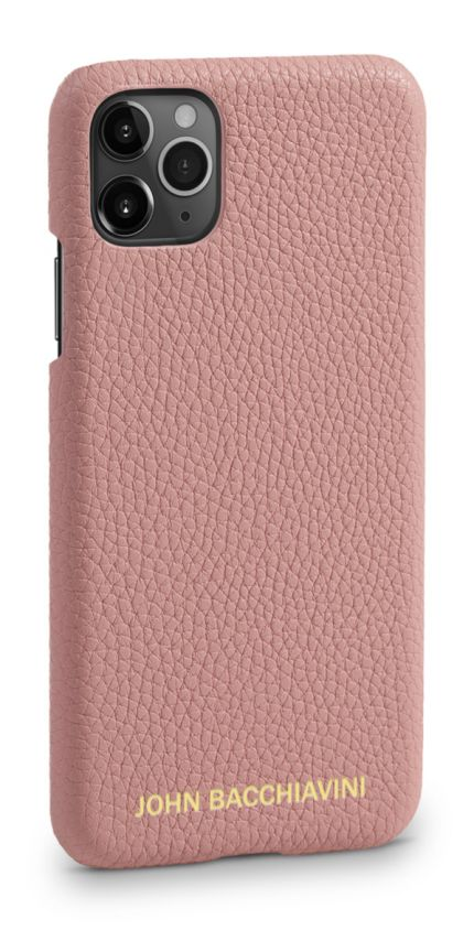 Mandevilla Pink Leather iPhone 11 Pro MAX Case