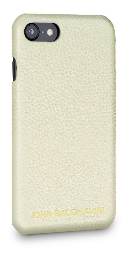 Cannoli Cream Leather iPhone 7/8 Case