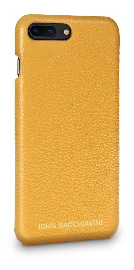 Marigold Yellow Leather iPhone 7/8 Plus Case