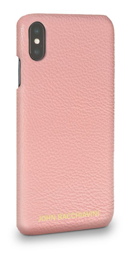 Pink Leather iPhone XS MAX Case
