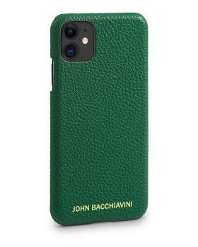 Jadeite Green Leather iPhone 11 Case
