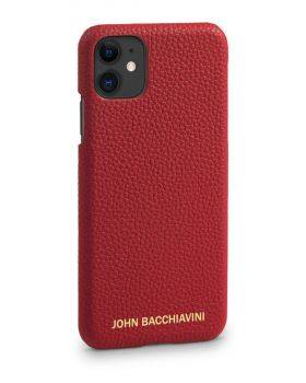 Rafflesia Red Leather iPhone 11 Case