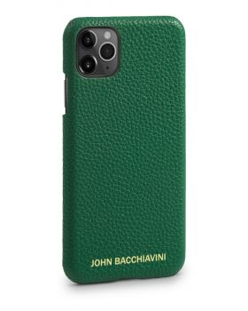 Jadeite Green Leather iPhone 11 Pro Case