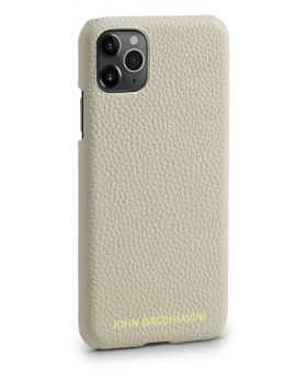 Cannoli Cream Leather iPhone 11 Pro MAX Case