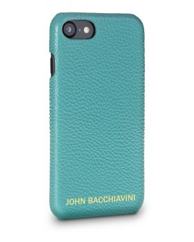 Turquoise Leather iPhone 7/8 Case