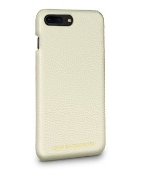 Cannoli Cream Leather iPhone 7/8 Plus Case