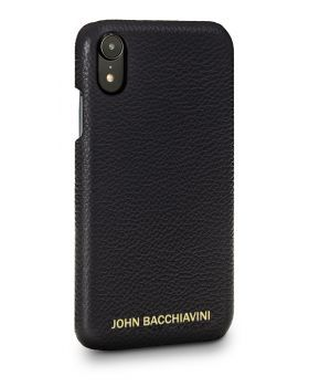 Tartufo Black Leather iPhone XR Case
