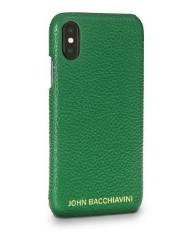 Jadeite Green Leather iPhone X/XS Case