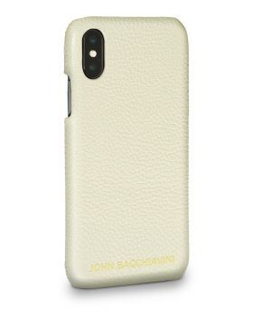 Cannoli Cream Leather iPhone X/XS Case