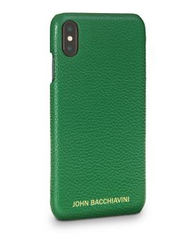 Green Leather iPhone XS MAX Case